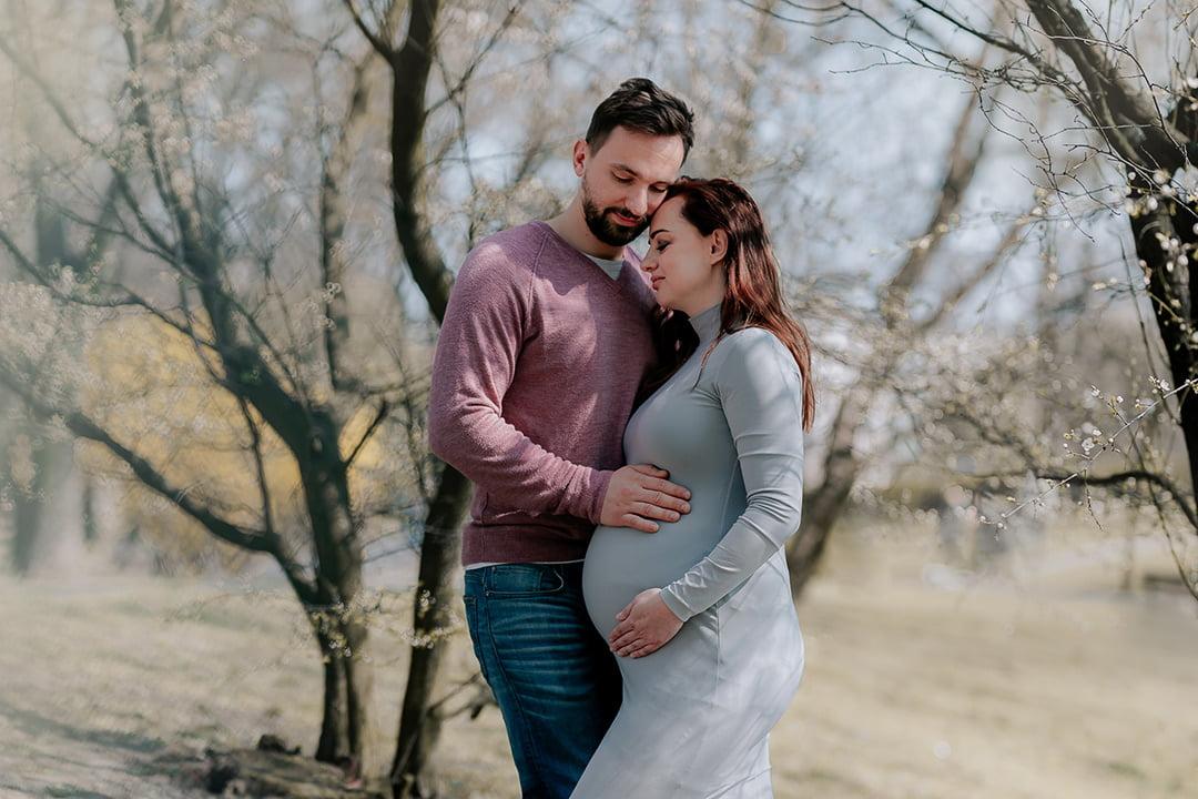 Sesja ciążowa w plenerze Siedlce Łosice Łuków